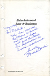 Entertainment Law & Business